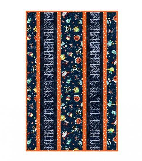 Shannon Fabrics - Fabulous 5 Cuddle Kits 38x58 Tickle Monster