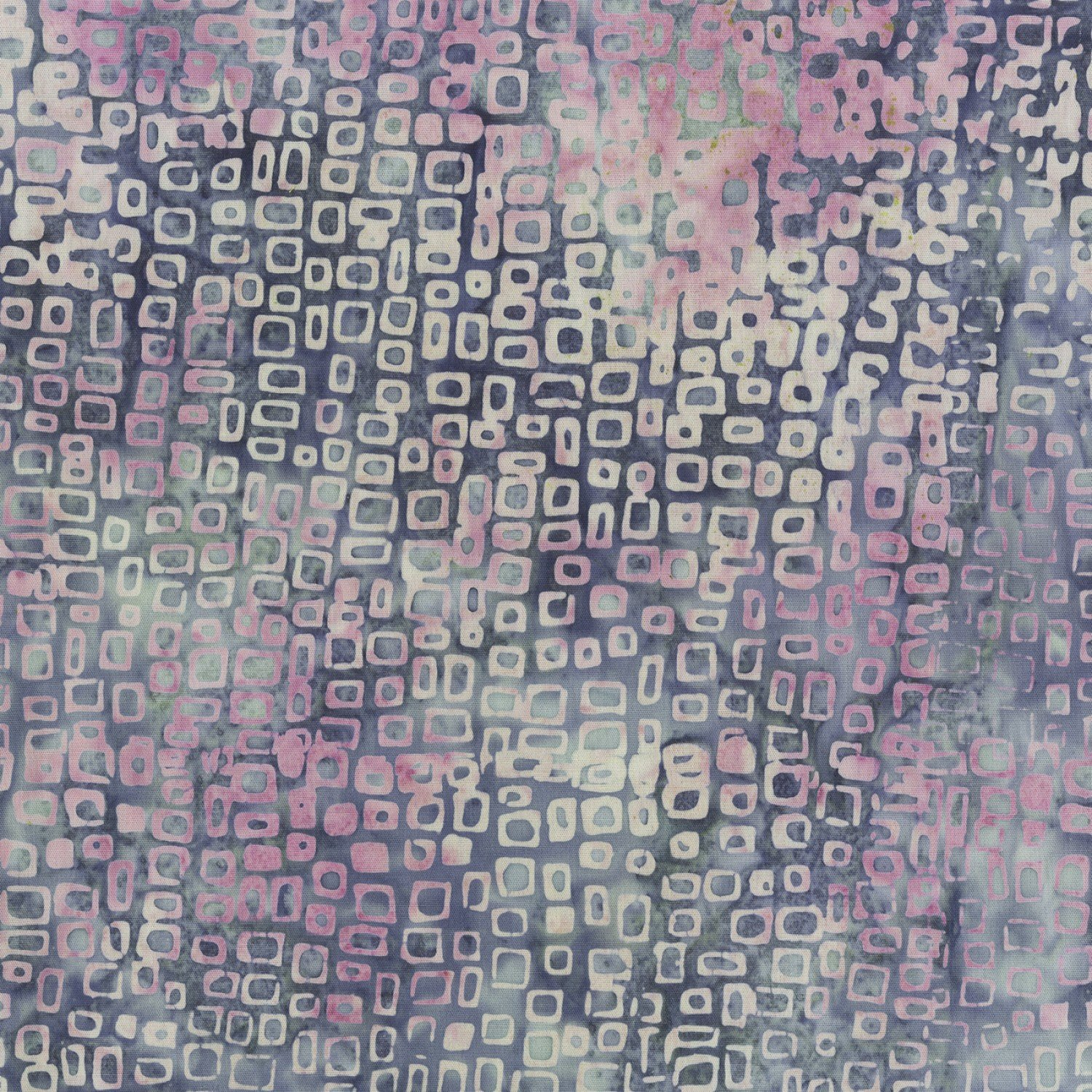 Anthology Fabrics - 408Q-8 Lilac Grey Squared Quiltessentials Vol. 3