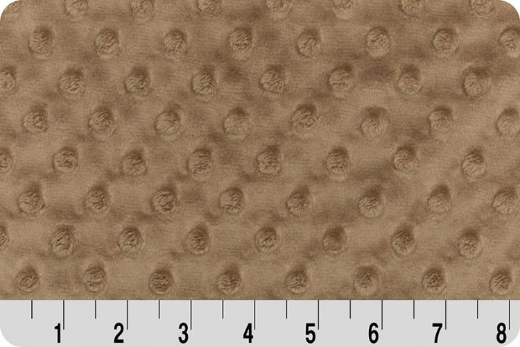 Shannon Fabrics - Cuddle Dimple 58/60 DR143931  Taupe