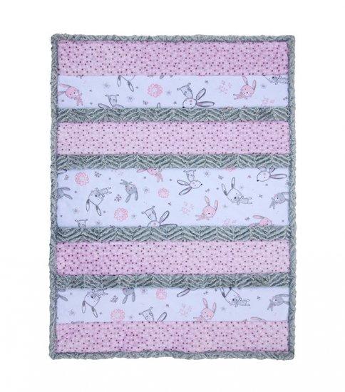 Shannon Fabrics - Bambino Cuddle kit 28x37   Bunny Hunny