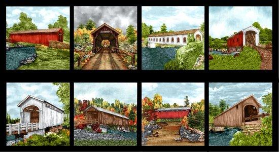 Blank Quilting - Covered Bridges - Covered Bridge Blocks 8997-99
