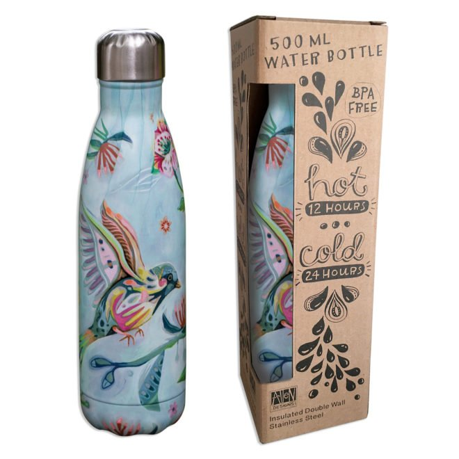 Insulated 500 ml water bottle - Bird by Allen Designs