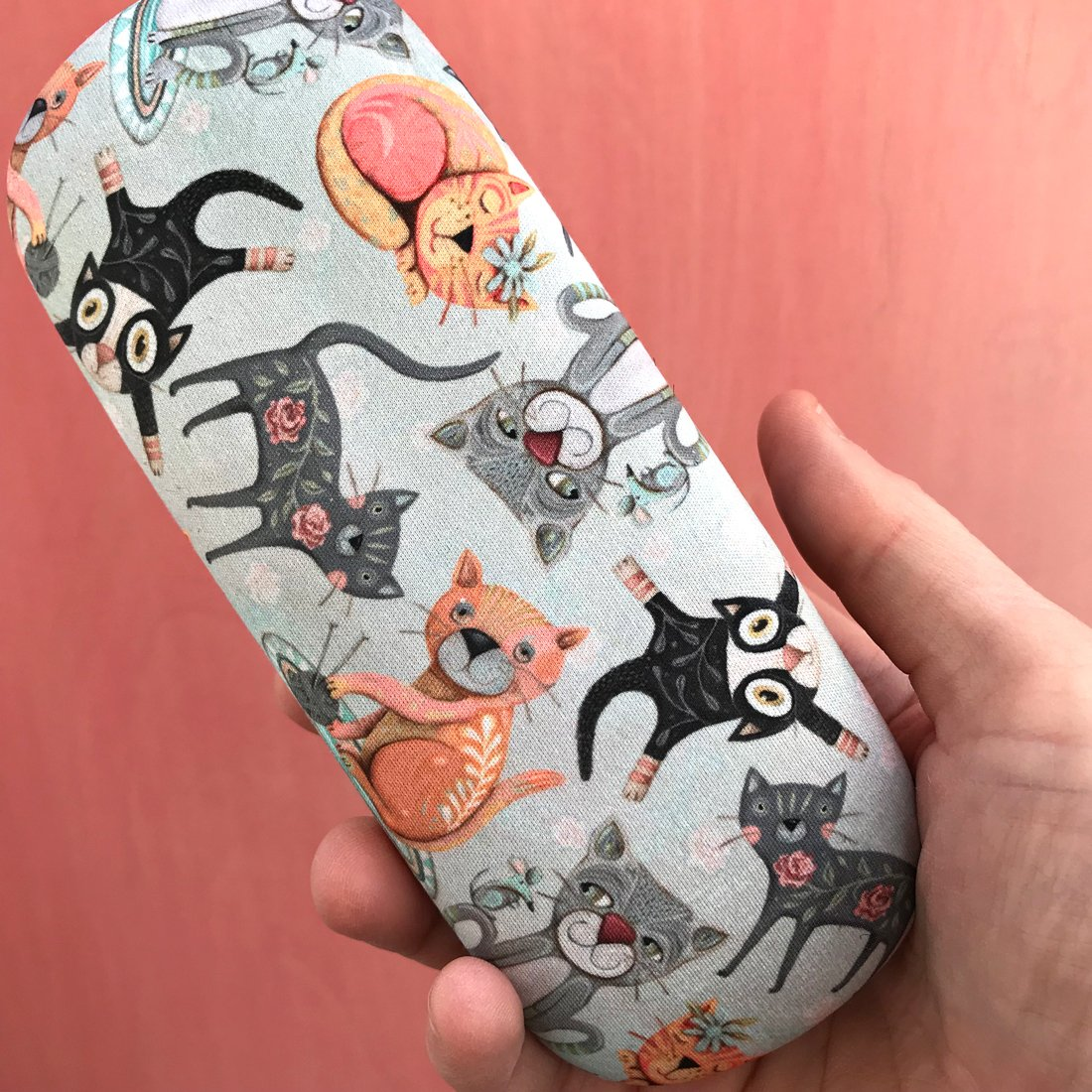 Allen Designs - Eyeglass Case and Cleaning Cloth