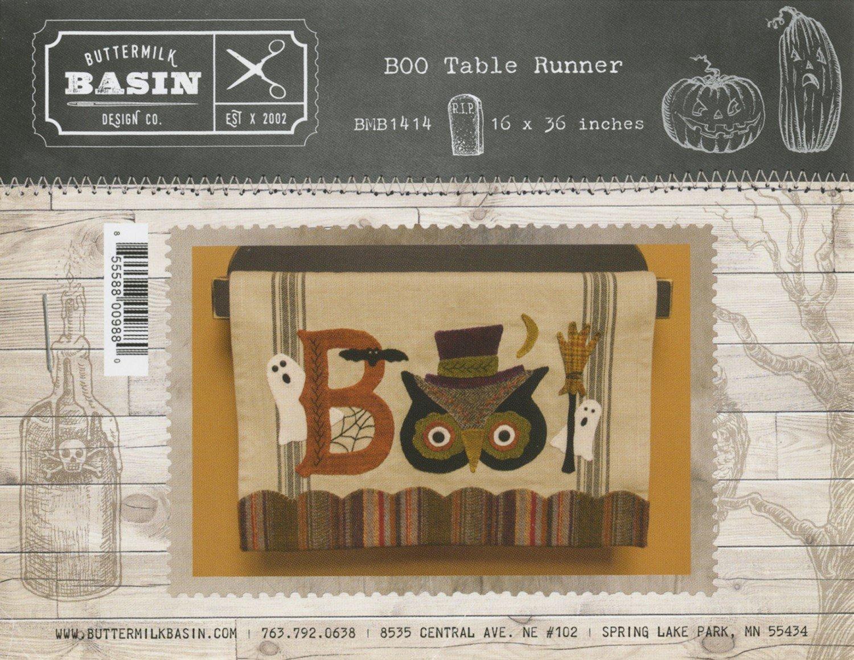 Boo Table Runner