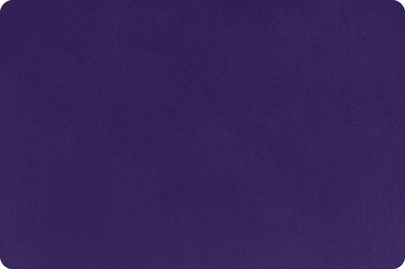 Shannon Fabrics - Solid Cuddle 3 Extra Wide 88/90 DR212467  Eggplant