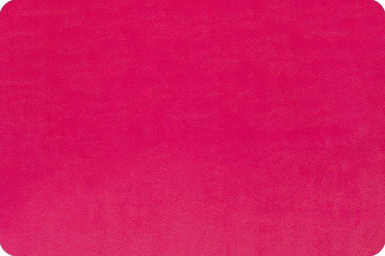 Shannon Fabrics - Solid Cuddle 3 58/60  Fuchsia