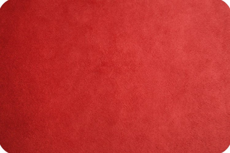 Shannon Fabrics - Solid Cuddle 3 Extra wide 88/90 Scarlet