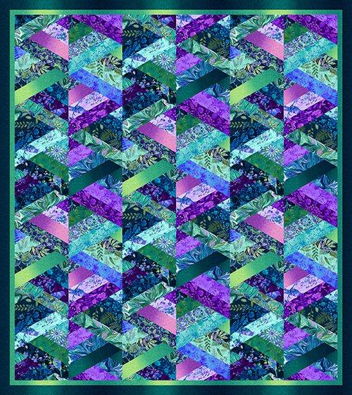 Feather & Flora fabric kit + pattern