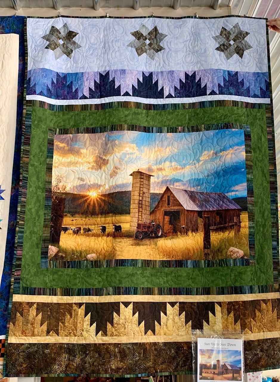 Gathering - Sun Up to Sun Down Fabric Kit + Pattern