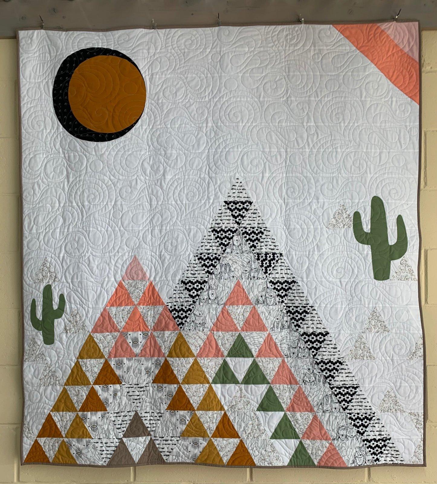 Little Mountains - Art Gallery Fabric Kit + Free Pattern