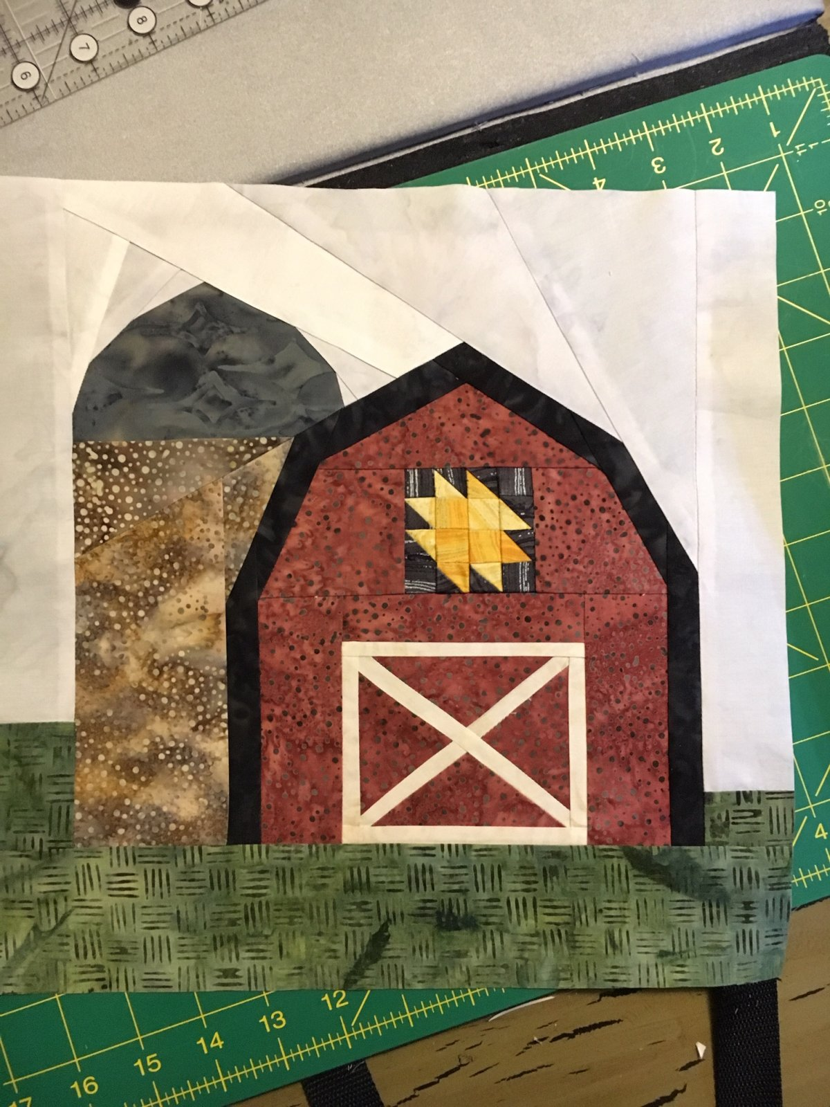 Brummond Barn Block - Pattern Only