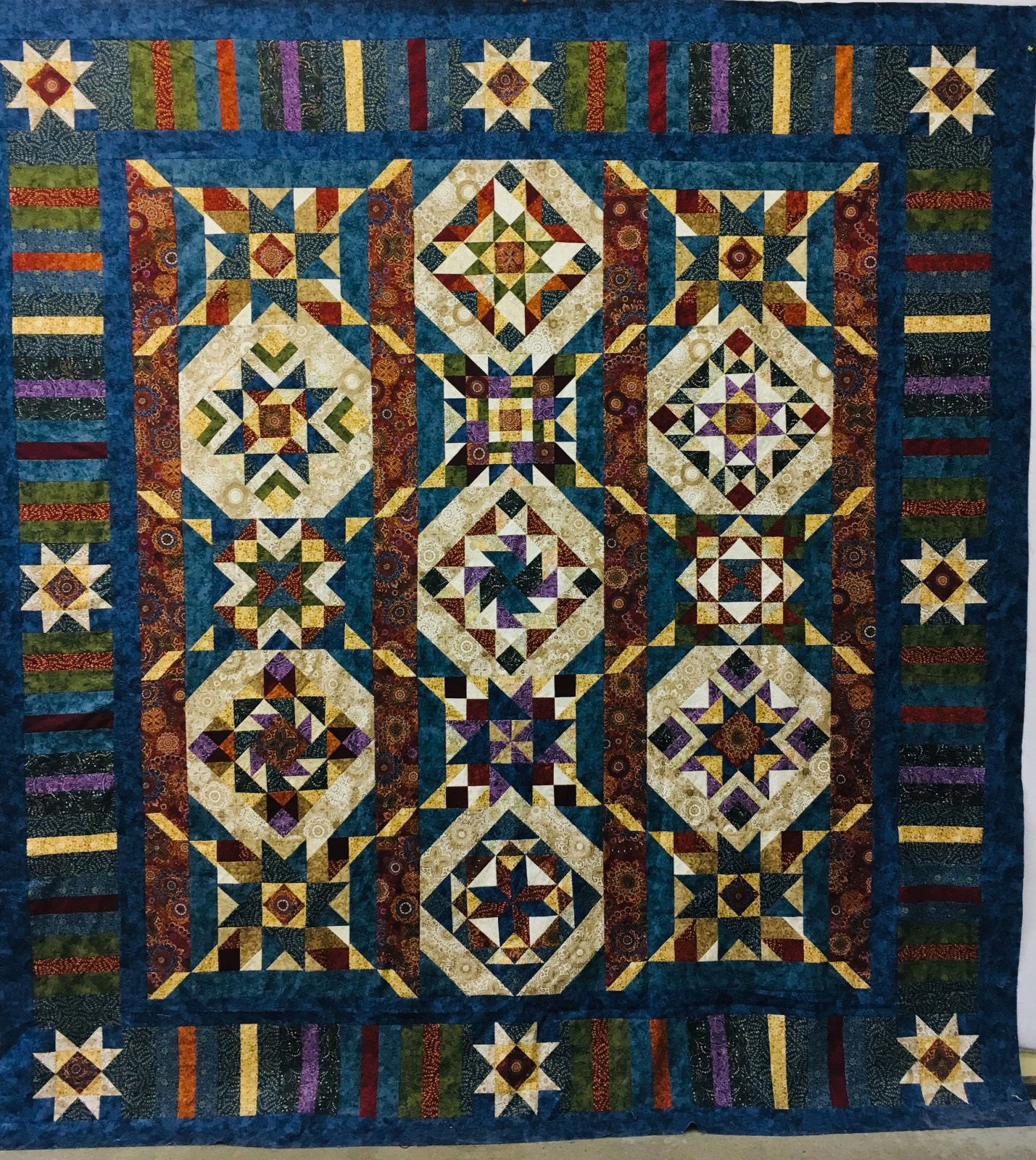 Tapestry - Fabric kit + pattern 96 x 104