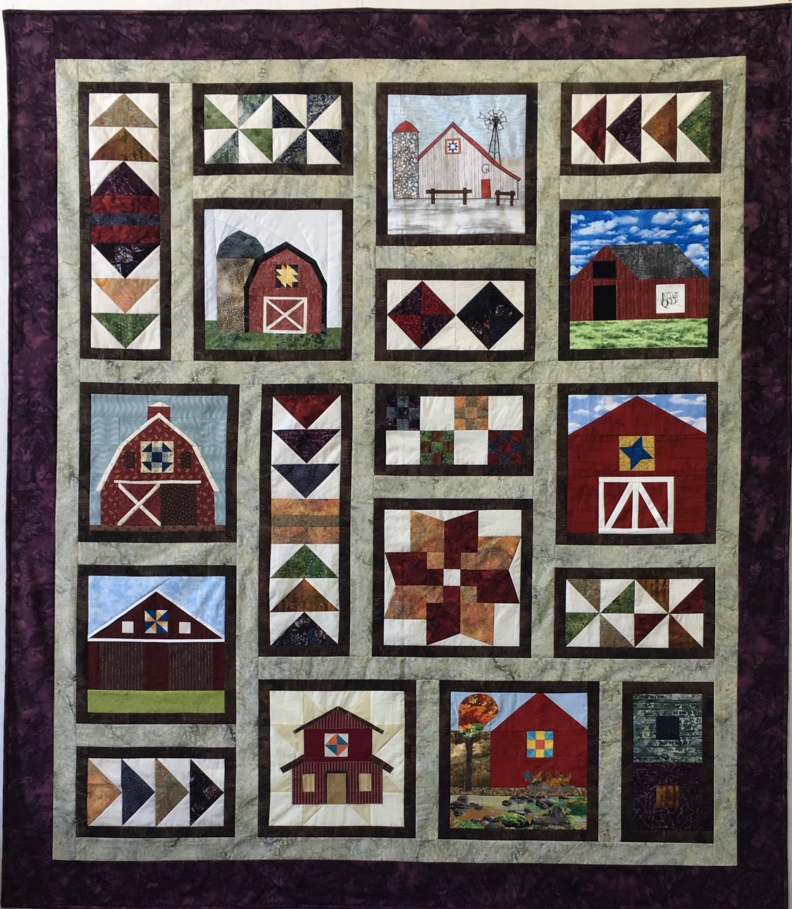 ACME's Barn Quilt - Fabric + Pattern