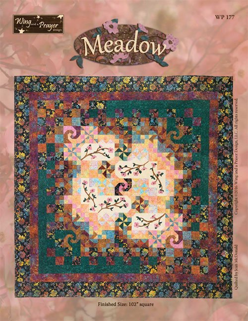 Meadow by Wing and a Prayer - Fabric and Pattern kit