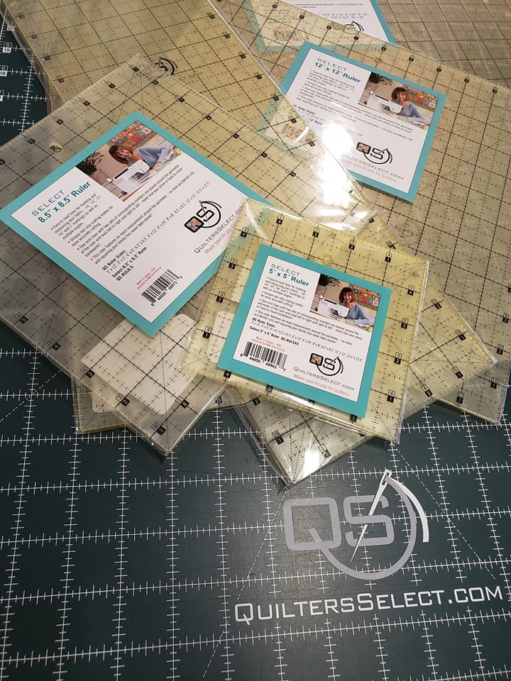 Quilters Select - Quilting Ruler 18x18