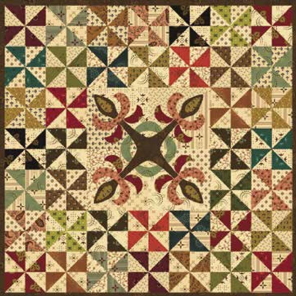 Simple Whatnots - Esther's Garden Box - Fabric Kit