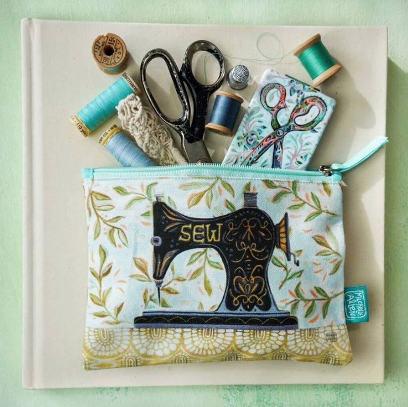 Stitch Sewing Machine Fabric Pouch