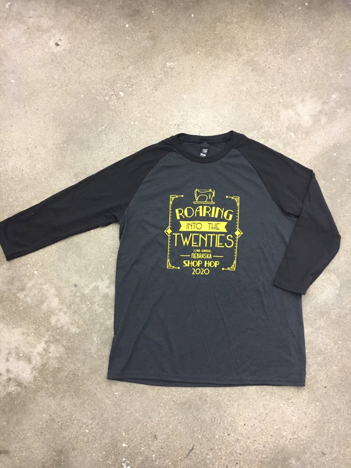 NIFS T-Shirt - Baseball Style sleeves    M-L-XL