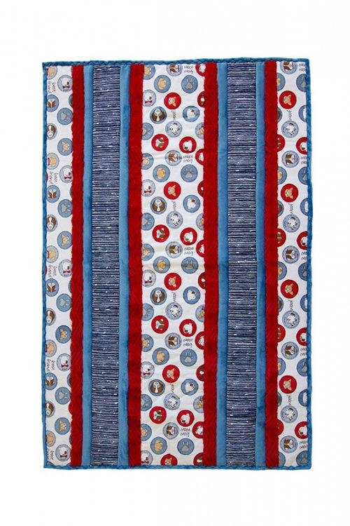 Shannon Fabrics - Fabulous 5 Cuddle Kit 38x58 Woof!