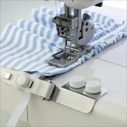 Elna Elastic Gathering Attachment (wide) for Cover Stitch Model ELBP