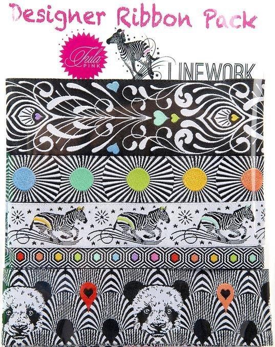 Tula Pink Linework Ribbon Packs