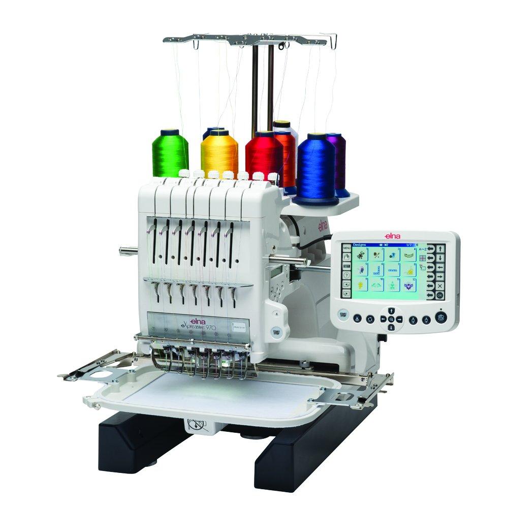 Elna 970 Seven Needle Embroidery Machine