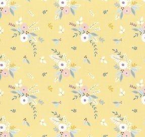 Little Ducklings Floral Bouquet Mustard