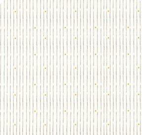 Little Ducklings Broken Star Stripe White