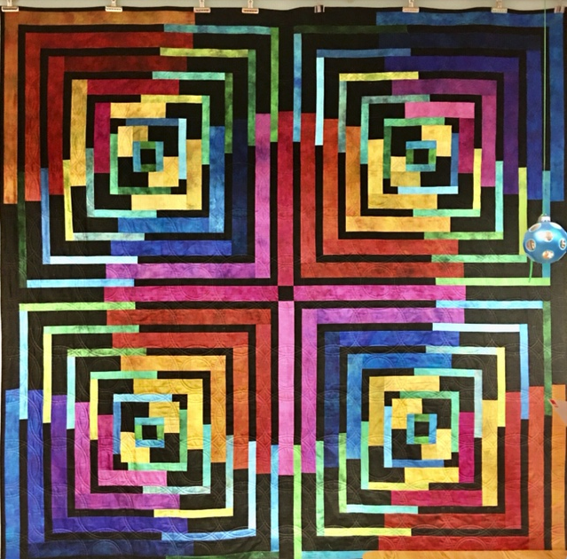 Antelope Canyon Quilt Kit 74 1/2 x 74 1/2