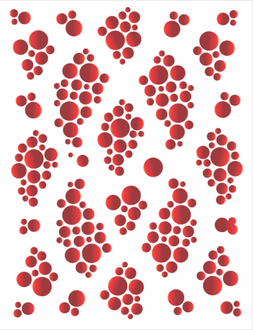 Tattoo Elementz Bubble #1 Red