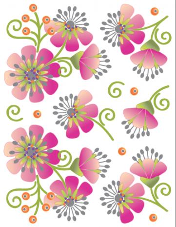 Tattoo Elementz Cherry Blossoms