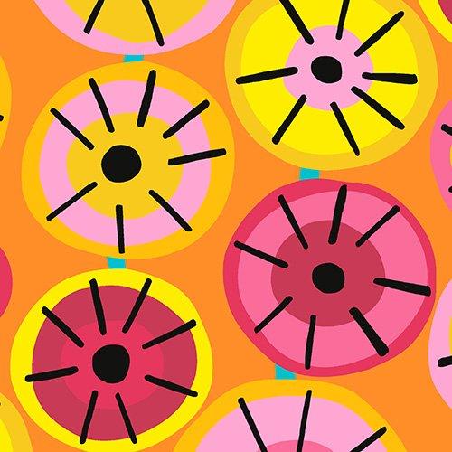 Andover Dazzle by Kim Schaefer Orange