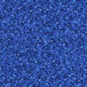RJR Fabrics Basically Patrick Blue Hexies
