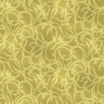 EBi Fabrics Endeavor Paisley Golden Green