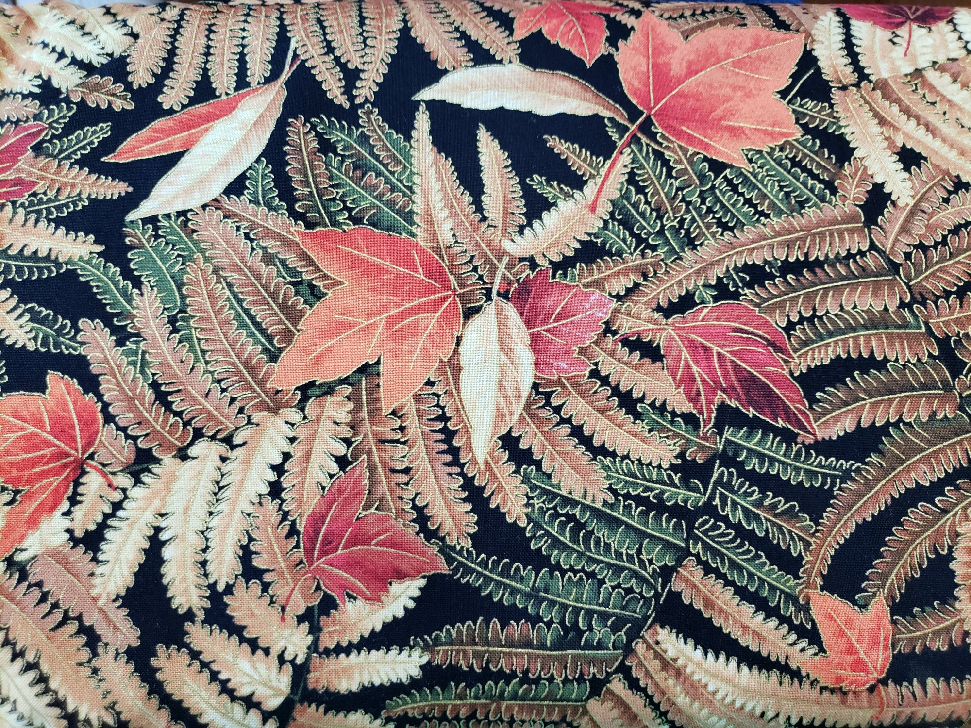 fabri-Quilt Fall Spectacular Fern Leaves