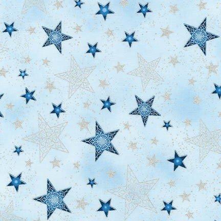 Robert Kaufman Winter's Grandeur 5 Frost