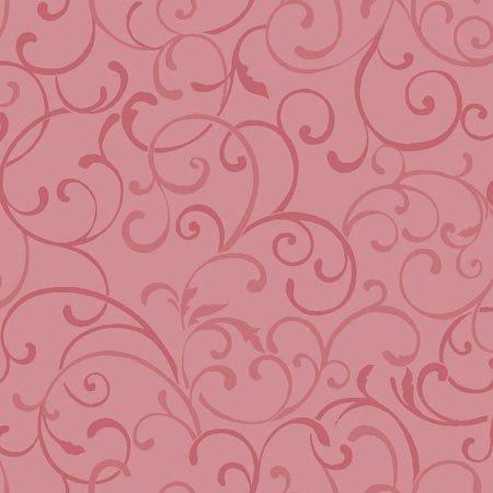 Benartex Glorious Hummingbirds Pink Swirl by Jackie Robinson