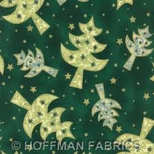 Hoffman Fabrics all is bright 8802