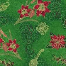 Paintbrush Studio Tis the Season Amaryllis Green