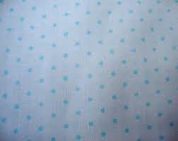 Troy Blue Dot Flannel