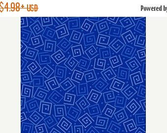 Quilting Treasures Harmony Cotton Blue Squares