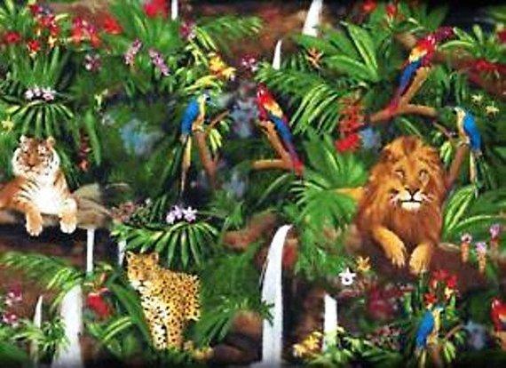 Robert Kaufman Feline Tigers Lions and Cheetahs