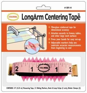 Colonial - LongArm Centering Tape