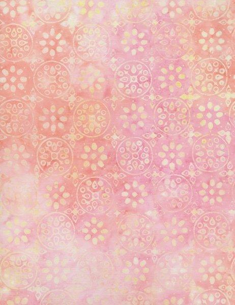 Timeless Treasures B6910 Tonga Kiss Geometric Pink