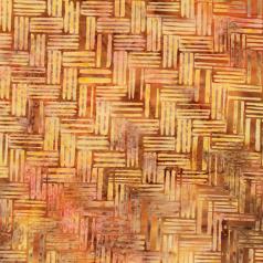 Hoffman Fabrics Copper & Gold Batik