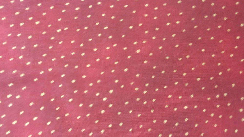 P & B Burgundy Marble with Gold Dots