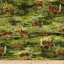 Robert Kaufman Bringing Nature Home All over Deer