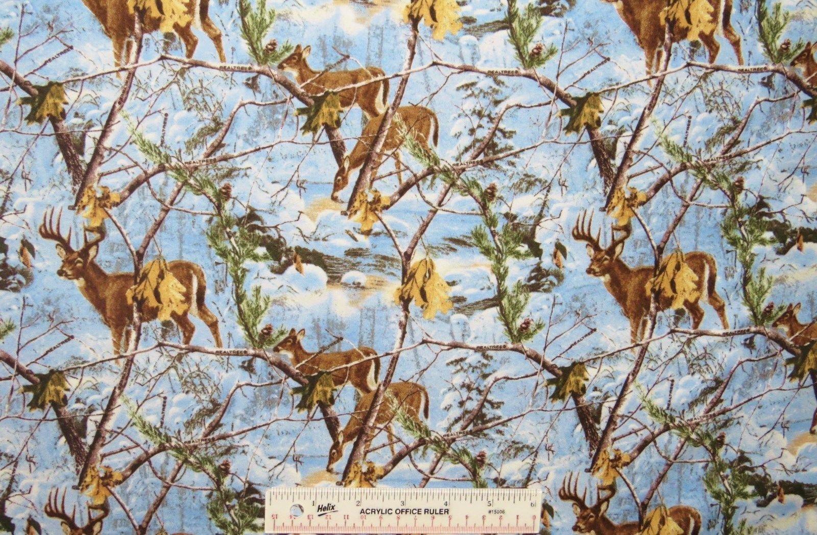 Northern Propotions Real Tree Deer at Dusk