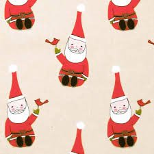 Andover Fabrics Santa Claus is coming to town by Marisa and Creative Thursday
