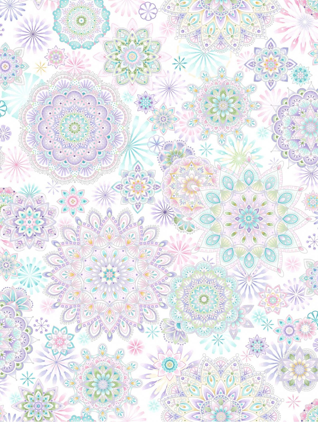 Oasis Fabrics Enchanted Medallians